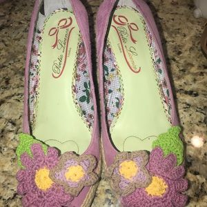Poetic license wedge shoes size 10